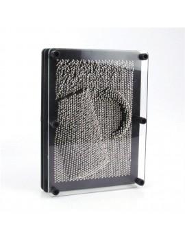 3-Dimensional Pin Art Board Metal Pin Board Sculptures Educational Toy