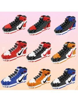 Building block shoes series micro particle assembling manual building block toys b15-6