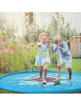 1.7m shark water mat for children yellow water mat for outdoor play