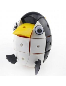 90 Pcs Black & White Penguin Blocks Model Magnetic Wisdom Deformable Jigsaw