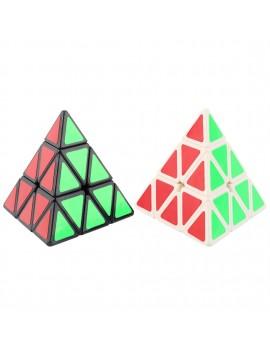 MOYU Pyraminx Triangular Pyramid Shaped Speed Magic puzzled Cube Black/White